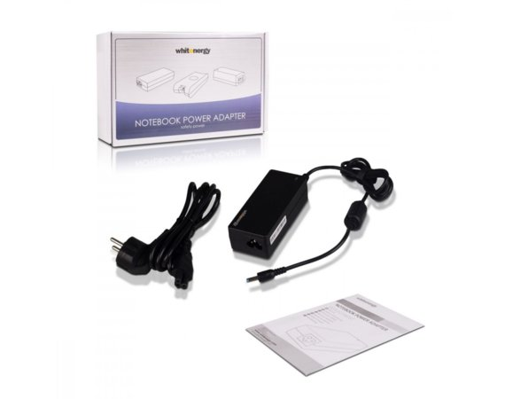 Whitenergy Zasilacz AC 230V; 19.5V; 2.31A; HP; 4,5mm x 3,0mm