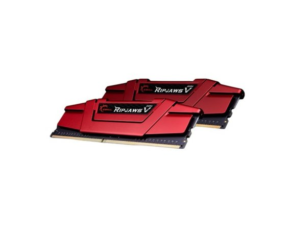 G.SKILL DDR4 32GB (2x16GB) RipjawsV 2400MHz CL15 XMP2 Red