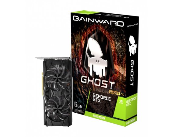 Gainward Karta graficzna GeForce GTX 1660SUPER GHOST OC 6GB GDDR6 192BIT HDMI/DP/DVI-D