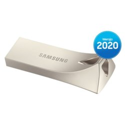 Samsung Pendrive BAR Plus USB3.1 128 GB Champaign Silver