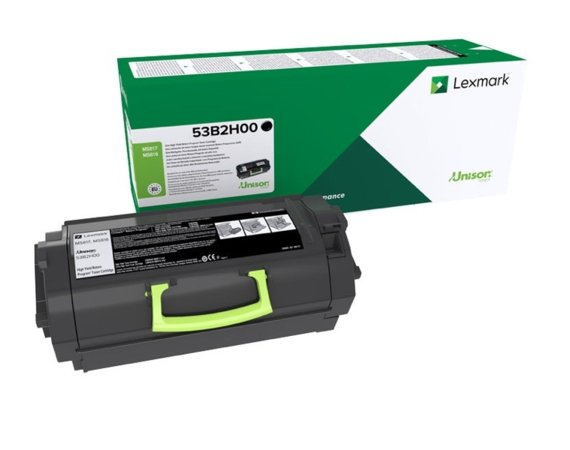 Lexmark Toner MS817/8dn 25K BK return 53B2H00