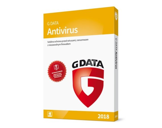 G DATA AntiVirus 2PC 2 Lata BOX