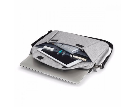 DICOTA Slim Case EDGE 12-13.3 torba na notebook jasnoszara