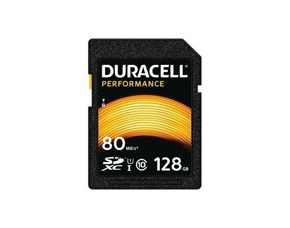 Duracell 128GB SDXC Class 10 UHS-1