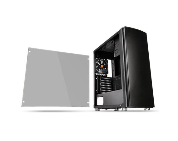 Thermaltake Obudowa Versa H27 USB3.0 Tempered Glass - Czarny