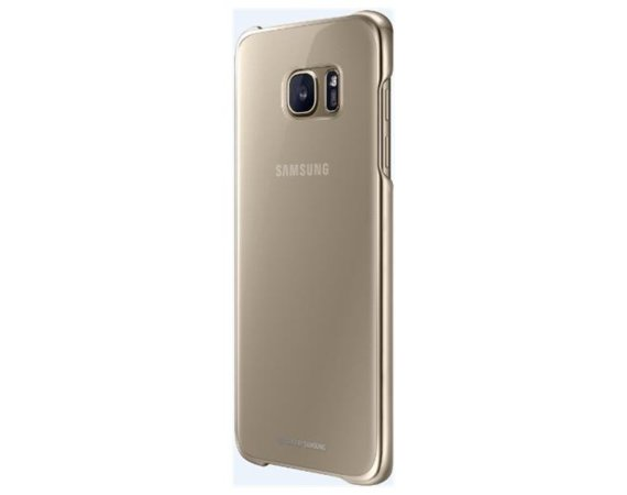 Samsung Clear Cover Galaxy S7 Edge Gold