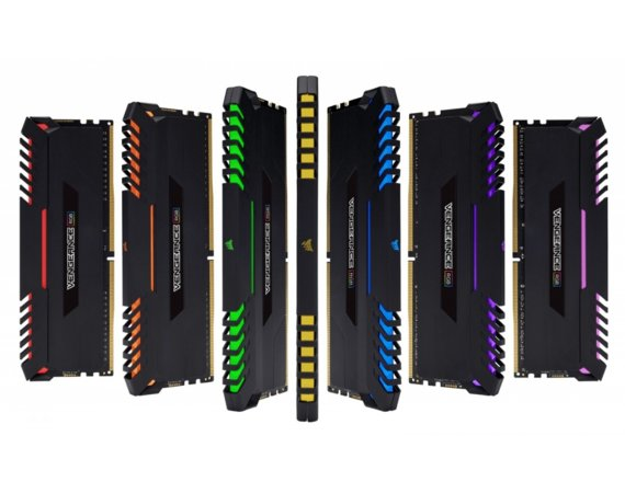 Corsair DDR4 Vengeance RGB LED 16GB/3000 (2*8GB) CL15-17-17-35 BLACK