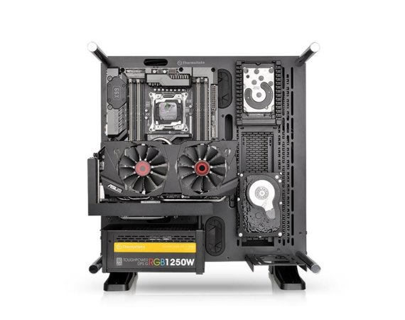 Thermaltake Obudowa Core P3 Tempered Glass Curved Edition