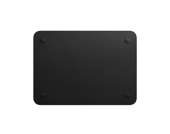 Apple Futerał Leather Sleeve for 12-inch MacBook - Black