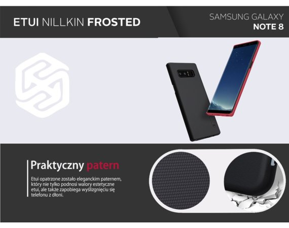 Nillkin Etui Frosted Samsung Galaxy Note 8 Brown