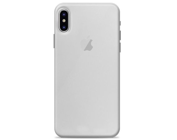 "PURO Ultra Slim ""0.3"" Cover - Etui iPhone X (półprzezroczysty)"