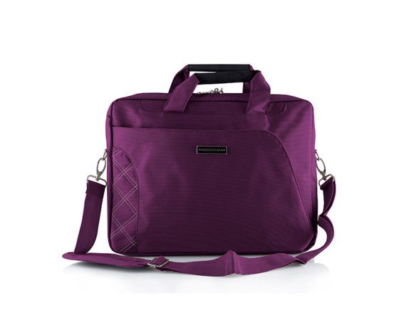 MODECOM GREENWICH 15 PURPUROWA TORBA DO LAPTOPA
