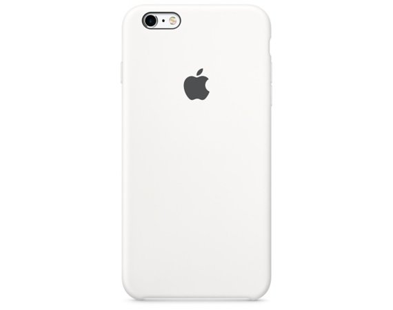 Apple iPhone 6s Plus Silicone Case White