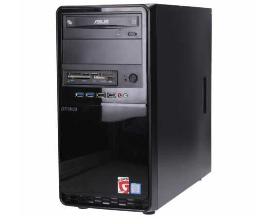 OPTIMUS Optimus Platinum GH110T i3-7100/4GB/240GB/DVD/LPT/RS232