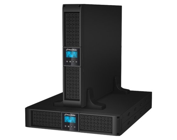 PowerWalker UPS LINE-INTERACTIVE 1000VA 4X IEC OUT, RJ11/RJ45 IN./OUT, USB/RS-232, LCD, RACK 19''