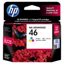 HP Inc. No 46 Tri-color CZ638AE