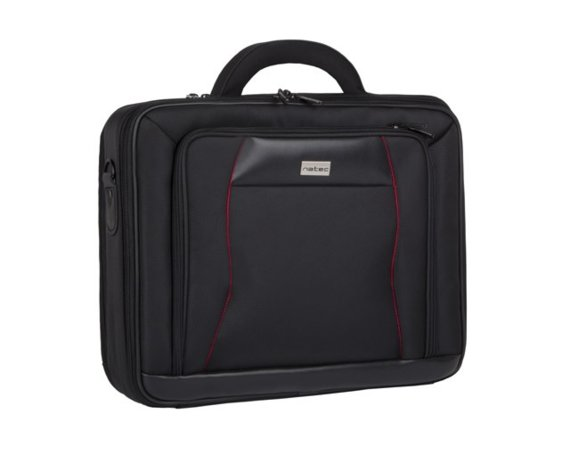 "NATEC TORBA DO LAPTOPA ALLIGATOR BLACK 15.4""/15.6"""