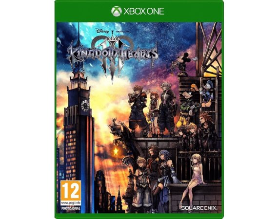 Cenega Gra Xbox One Kingdom Hearts 3