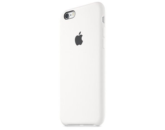 Apple iPhone 6s Silicone Case White          MKY12ZM/A