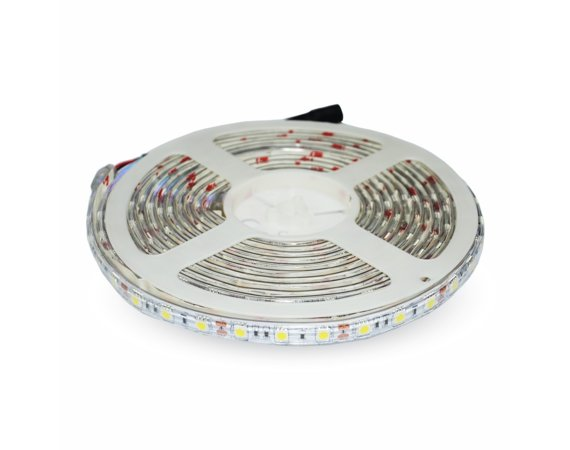 V-tac Taśma LED SMD RGB VT-5050 60/300 10,8W/54W 12V IP65 5MX10MM