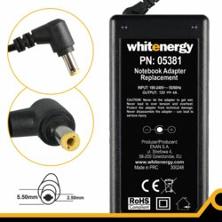 Whitenergy Zasilacz do LCD 12V | 4A 48W wtyk 5.5*2.5mm 05381
