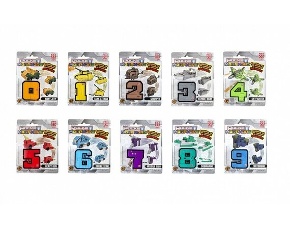 Figurki Pocket Morphers II