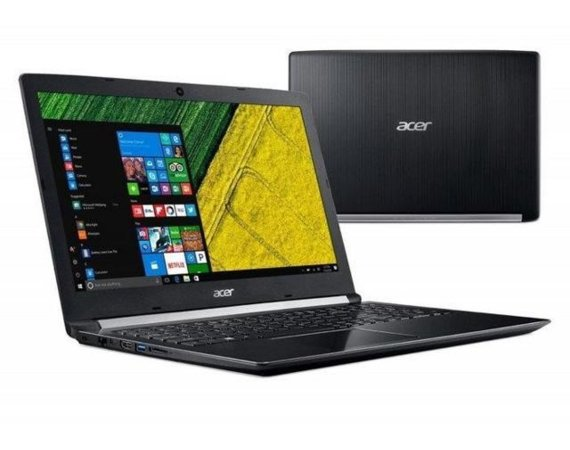 Acer Notebook Aspire 5 A517-51G-54GK REPACK WIN10 i5-7200U/8GB/256SSD/GF940MX/17.3 FHD