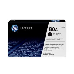 HP Inc. Toner 80A Black 2.7k CF280A