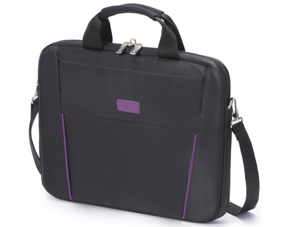 "DICOTA Slim Case BASE 12-13,3""     black/purple"