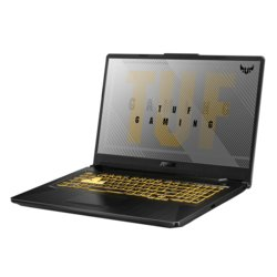 Asus Notebook TUF Gaming A17 FA706II-H7024T W10 Home R7-4800H/16/512/gtx1650/17.3