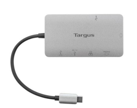 Targus Stacja dokująca USB-C DP Alt Mode Single Video 4K HDMI/VGA  100W PD Pass-Thru