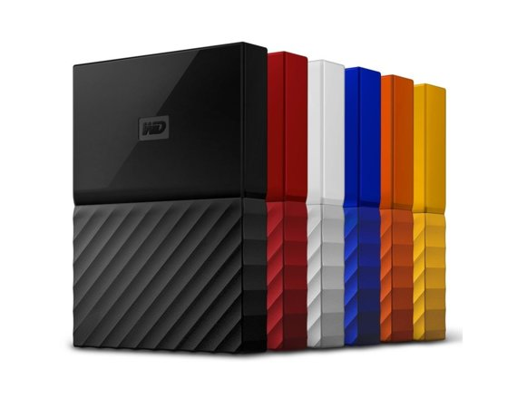 Western Digital MY PASSPORT 1TB 2,5' red WDBYNN0010BRD-WESN