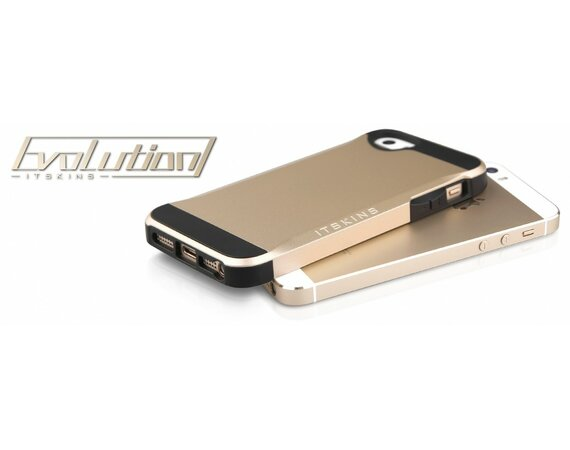 ITSKINS Etui Evolution iPhone 5/5s Złote