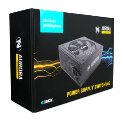 iBOX Zasilacz Aurora 600W 14 Fan gaming BOX