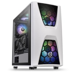 Thermaltake Obudowa Commander C34 Tempered Glass ARGB Snow Edition