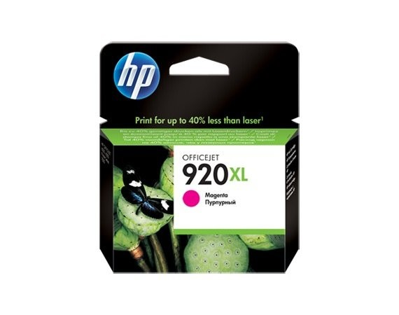 HP Inc. Tusz nr 920 Purpurowy (Magenta) XL CD973AE