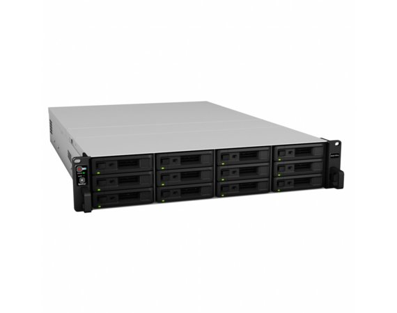 Synology RS3617RPxs 12x0HDD 8GB Xeon 2.4/2.7Ghz 2xPSU 2xUSB 4xGbE