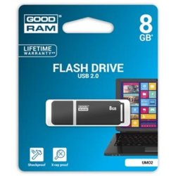 GOODRAM UMO2 8GB USB 2.0 Grafit