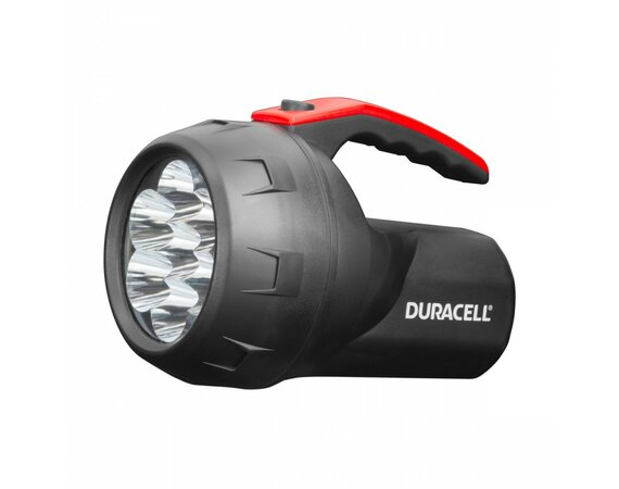 Duracell Latarka LED VOYAGER FLN-2, gumowy grip + 4x AA