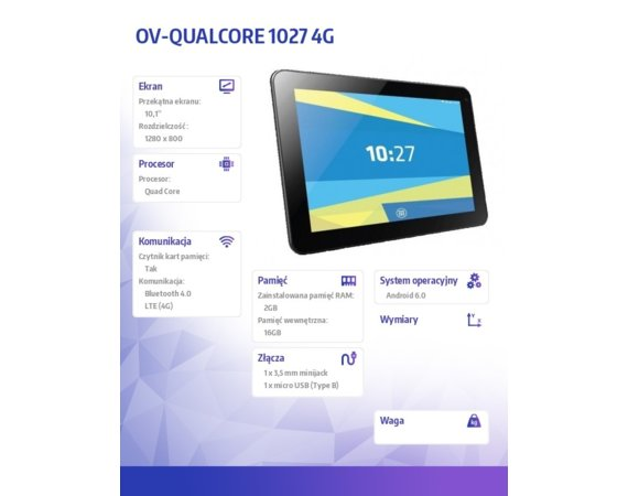 OVERMAX QUALC.1027 4G OVERMAX 4G