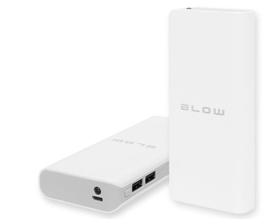 BLOW Power Bank PB15 20000mAh 2xUSB BIAŁY