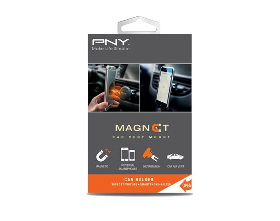 PNY Magnet Car Vent Mount H-VE-MG-K01-RB