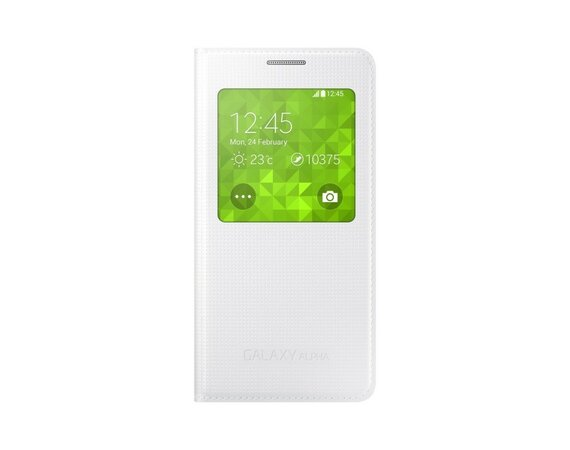 Samsung S VIEW COVER Galaxy ALPHA WHITE