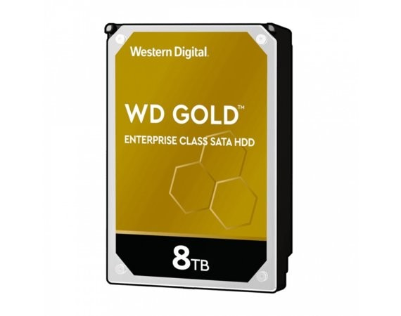 "Western Digital HDD Gold Enterprise 8TB 3,5"" 256MB SATAIII/7200rpm"