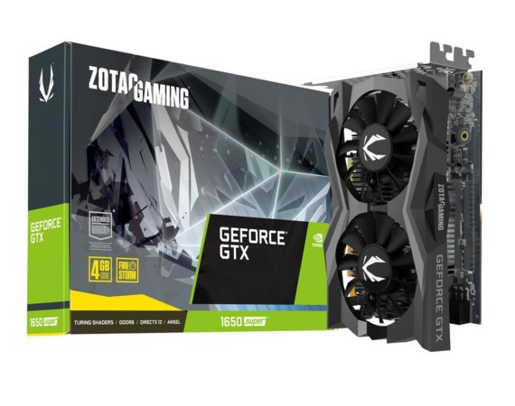 ZOTAC Karta graficzna GeForce GTX 1650Super Twin Fan 128bit GDDR6 HDMI/DP/DVI