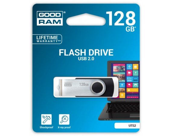 GOODRAM TWISTER 128GB BLACK