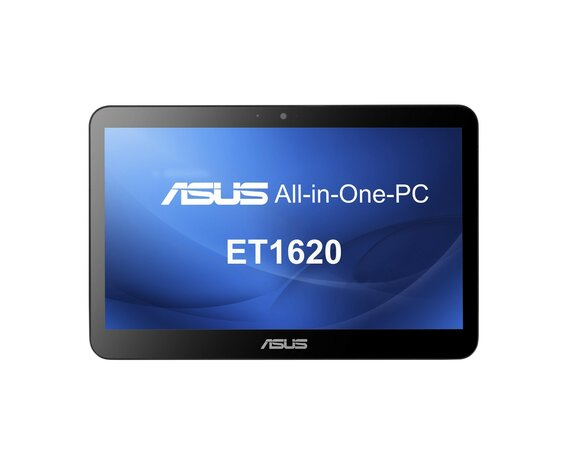 "Asus AiO PC ET1620IUTT-BD007Q Win8.1 64bit J1900/4GB/500GB/Intel HD/WLAN 802.11B/G/N/Wired Keyboard & Mouse/15.6"" HD+ Multi Touch Black"