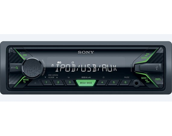 Sony DSX-A202UI (green)
