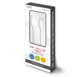 Elmak Kabel USB - micro USB Quick Charge, 5A, 1m SAVIO CL-127