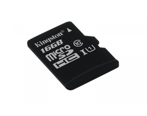 Kingston microSD  16GB Canvas Select 80/10MB/s